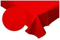 Prześcieradło RUBIN 100% bawełna 160x220 bez gumki wz. 016 czerwony
