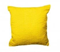 Poszewka 40x40 - KORA bawełniana wzór 26 żółty
