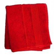 Ręcznik Bambusowy Moreno rozmiar 50x90 - Czerwony
