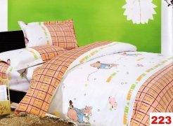 Poszewki na poduszki 40x40 bawełna satynowa wz.223
