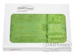 Komplet ręczników dwuczęściowy Bamboo Arabeska zieleń 50x90 + 70x140