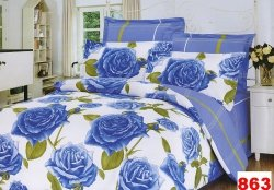 Poszewki na poduszki 40x40 bawełna satynowa wz.863
