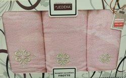 Komplet ręczników 3 częściowy Jedeka wz 06