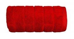 Ręcznik BRICK 50x90 kolor czerwony