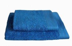 Ręczniki BAMBOO STYLE Andropol 70x140 wz. GŁĘBOKI NIEBIESKI