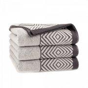 Ręcznik frotte SONORA 50x100 kolor brązowy