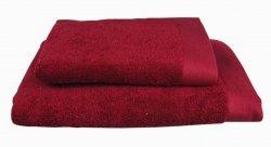Ręczniki BAMBOO STYLE Andropol 50x100 wz.  BURGUND