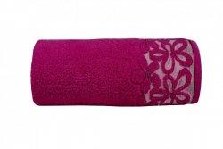 Ręcznik BELLA 70x140 kolor fuksja