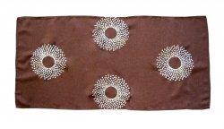 Obrus Haftowany Bruna 68-2 60x120 cm kolor: brązowy