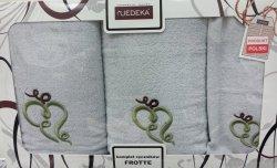 Komplet ręczników 3 częściowy Jedeka wz 12