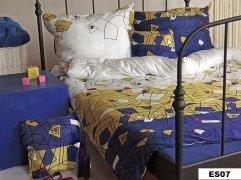 Poszewki na poduszki 40x40 satyna ANDROPOL kolekcja Essential wz.  Essential07 (18110)