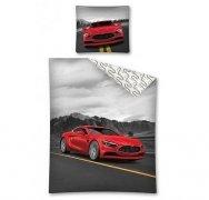 Pościel licencyjna Super Car 100% bawełna 160x200 lub 140x200 - wz. 2444A