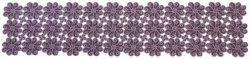 Obrus FLAMENCO 20V 50x100 haftowany, kolor: fioletowy
