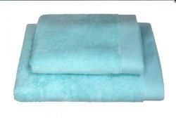 Ręczniki BAMBOO STYLE Andropol 70x140 wz. miętowy, lazurowy