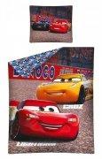 Pościel licencyjna Disney 100% bawełna 160x200 lub 140x200 - Auta wz. 30 DC