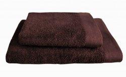 Ręczniki BAMBOO STYLE Andropol 50x100 wz.  Czekolada
