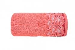 Ręcznik BELLA 50x90 kolor koralowy