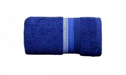 Ręcznik OMBRE 70x140 kolor granatowy