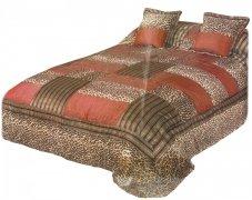 Narzuta na łóżko 220x220 + 2 poszewki 40x40 wz. Wiktoria 10