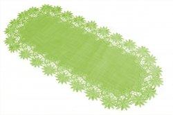 Obrus 45x170 wz. 606 Kolor: Zielony