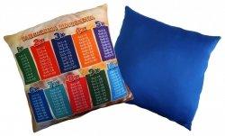 Poduszka matematyczna 40x40 wz. 05/niebieski