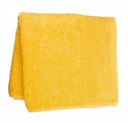 Ręcznik PROMOCJA,ręcznik jednobarwne AQUA rozmiar 50x100 wz. zółty