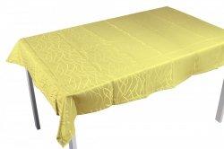Obrus plamoodporny Jedeka 140x220 prostokat Kolor: żółty