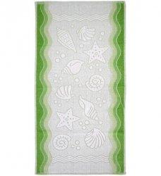 Ręcznik FLORA OCEAN 70x140 kolor zielony