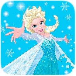 Ręcznik magiczny 30x30 Frozen