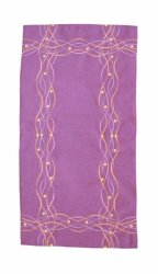 Obrus Haftowany Bruna 58-1 130x160 cm kolor: fioletowy