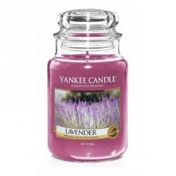 Świeca Yankee Candle Lavender - duży słoik