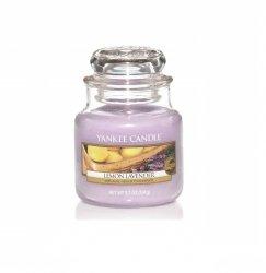 Świeca Yankee Candle Lemon Lavender - mały słoik