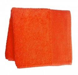 Ręcznik AQUA rozmiar 50x100 wz. pomarańczowy