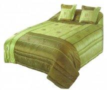Narzuta na łóżko 220x220 + 2 poszewki 40x40 wz. Wiktoria 11