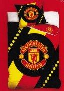 Pościel sportowa licencyjna 100% bawełna 140x200 - Manchester United 8005