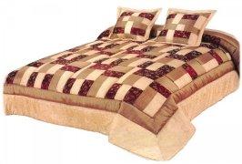 Narzuta na łóżko 220x220 + 2 poszewki 40x40 wz. Wiktoria 13