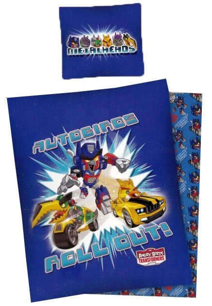 Pościel licencyjna 100% bawełna 160x200 lub 140x200 - Transformers