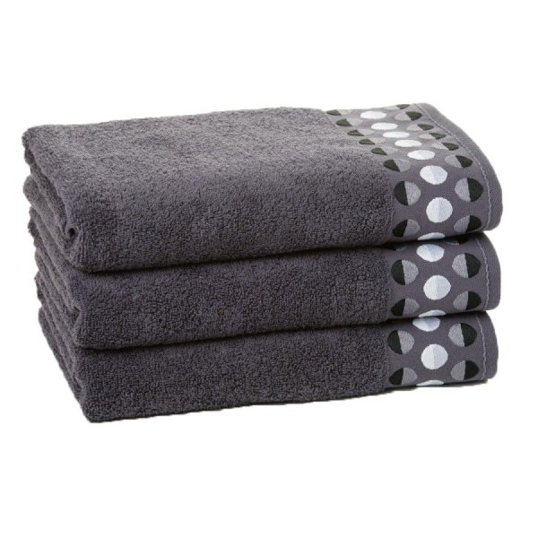 Ręcznik ZEN 50x90 kolor ciemny szary
