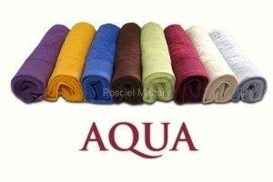 Ręcznik jednobarwny AQUA rozmiar 70x140 biały