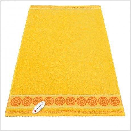Ręcznik frotte Rondo 50x90 kolor żółty k6