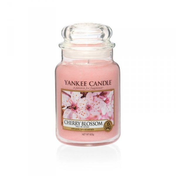 Świeca Yankee Candle Cherry Blossom - duży słoik