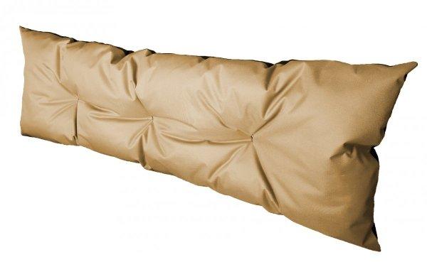 Poduszka ogrodowa na paletę - oparcie 120x40 wz. Beż