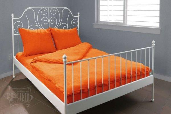 Pościel Frotte wz. 31 pomarańczowy rozmiar 140x200