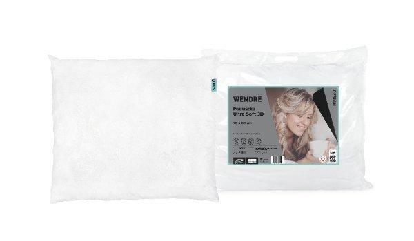 Poduszka ULTRA SOFT 3D 50x60 wz. Biała - wyrób medyczny