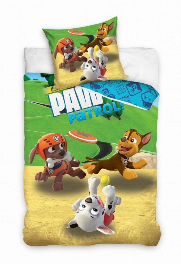 Pościel licencyjna Psi Patrol 100% bawełna 160x200 lub 140x200 - wz. PAW181071