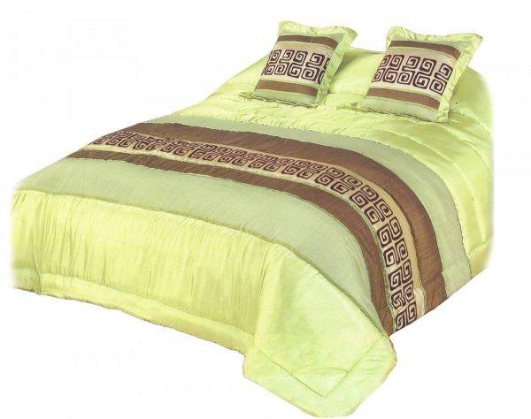 Narzuta na łóżko 220x220 + 2 poszewki 40x40 wz. Wiktoria 08