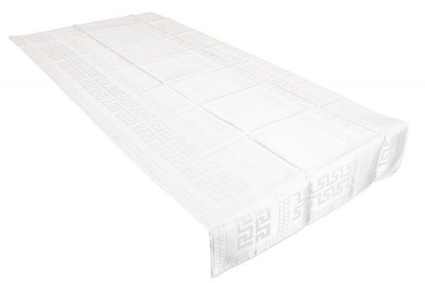 Obrus teflonowy rozmiar 70x150 wzór ecru (190)
