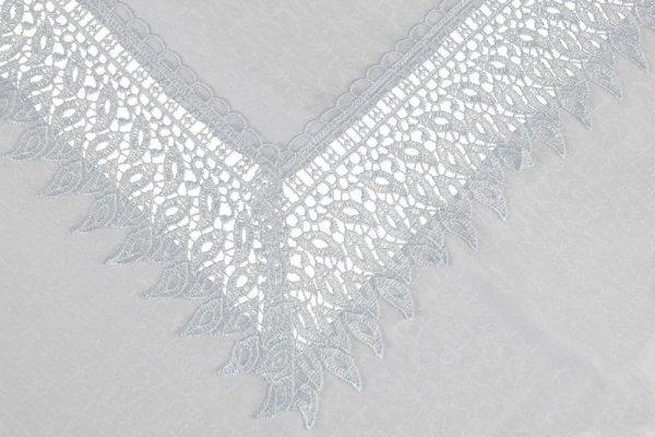 Obrus gipiurowy rozmiar 60x120 wzór biały (144)