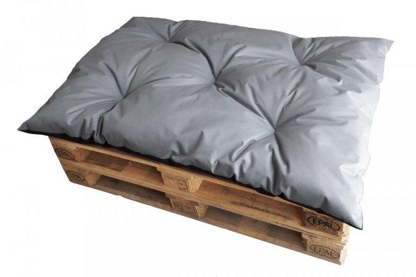 Poduszka ogrodowa na paletę - siedzisko 120x80 wz. Szary