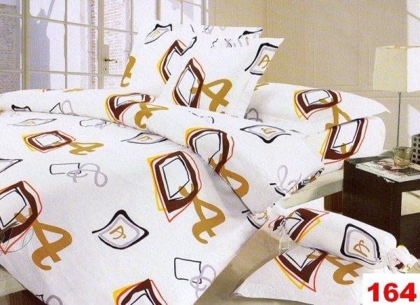 Poszewki na poduszki  40x40 bawełna satynowa wz. 0164